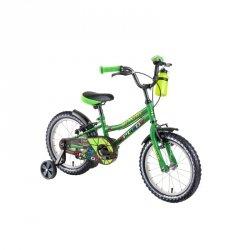 """Rower dziecięcy DHS Speedy 1603 16"""" - model 2019 Kolor Zielony"""