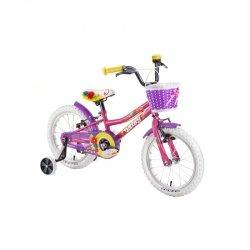 """Rower dziecięcy DHS Daisy 1604 16"""" - model 2019 Kolor Różowy"""