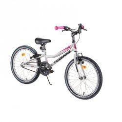 """Rower dziecięcy DHS Teranna 2004 20"""" - model 2019 Kolor Biały"""