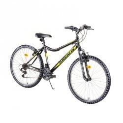 "Damski rower górski Kreativ 2604 26"" - model 2019 Kolor Czarny"