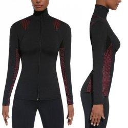 Damska sportowa koszulka BAS BLACK Inspire Blouse Kolor Czarno-różowy, Rozmiar S
