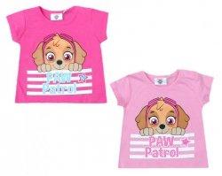 T-shirt niemowlęcy Psi Patrol : Rozmiar: - 67cm