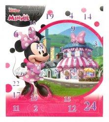 Kalendarz adwentowy z akcesoriami do włosów Myszka Minnie