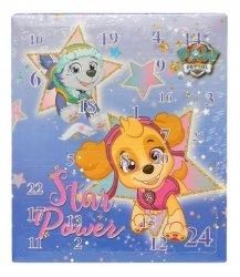 Kalendarz adwentowy Psi Patrol - akcesoria do włosów