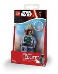 Brelok do kluczy z latarką - Lego Star Wars Boba Fett