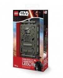 Brelok do kluczy z latarką - Lego Star Wars Han Solo Carbonite