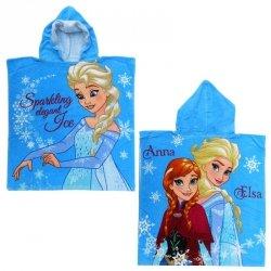 Ręcznik ponczo z kapturem Frozen - Kraina Lodu