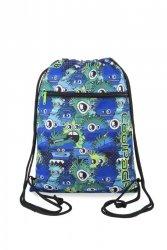 Coolpack - vert - worek na buty - wiggly eyes blue