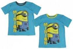 T-shirt Minionki : Rozmiar: - 110