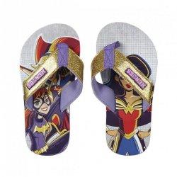 Klapki, japonki Superhero girls : Rozmiar: - 35