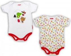 Body niemowlęce – 2 pak Fisher Price : Rozmiar: - 0 m