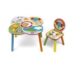 Krzesło + stolik Fisher Price