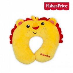 Zagłówek ,poduszka podróżna lew Fisher Price