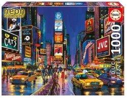 Educa Puzzle Times Square, Nowy Jork, Neonowe 1000 el.