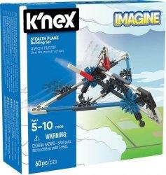 K'nex K'nex Imagine Samolot Stealth - zestaw konstrukcyjny