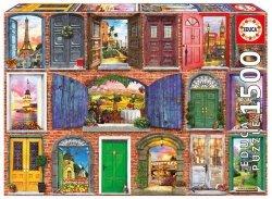 Puzzle Drzwi Europy 1500 el.