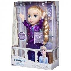 Jakks Pacific Frozen 2 Kraina Lodu Elsa w fioletowej sukni, śpiewająca