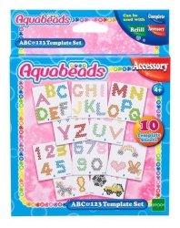 Aquabeads Szablony ABC i 123