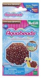 Aquabeads Brązowe koraliki-klejnociki