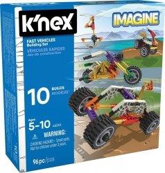 K'nex K'nex Imagine szybkie pojazdy - zestaw konstrukcyjny