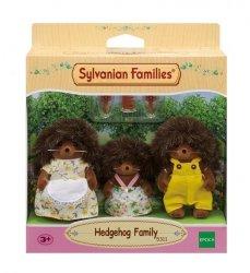 Sylvanian Families Rodzina jeżyków (Tata, Mama, Dziecko)