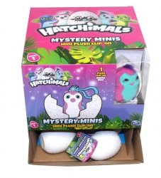 Wish Factory Hatchimals - Pluszowy brelok w jajku 6 cm Ast.