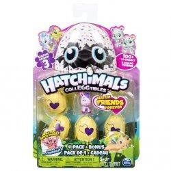 Hatchimals 4-pak z bonusem S3