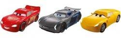 Mattel Cars Auta światła + dźwięki 1:21 Ast.