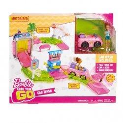 Mattel Barbie On The Go Myjnia samochodowa zestaw + Lalka