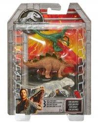 Mattel Jurassic World Minidinozaury 3-pak Ast.