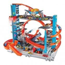Mattel Hot Wheels City Mega Garaż Rekina