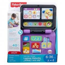 """Mattel Fisher Price Ucz się i śmiej Laptop Malucha """"Klikaj i ucz się"""""""