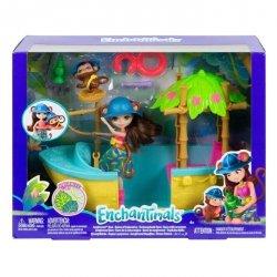 Mattel Enchantimals Tropikalna łódka