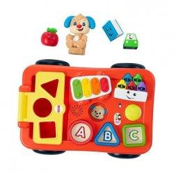 Mattel Fisher Price Edukacyjny wózek Szczeniaczka