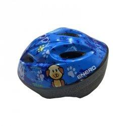 Kask Rowerowy Dziecięcy Regulowany Enero Puppy R.L (51-53Cm)
