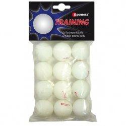 Piłeczki Do Tenisa Stołowego Sponeta Training 12Sztuk
