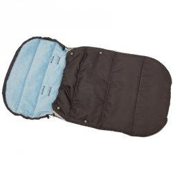 Śpiworek Zimowy Dla Dzieci 90X45Cm Polar Błękitny / Antracyt