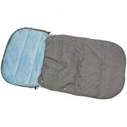Śpiworek Zimowy Dla Dzieci 90X45Cm Polar Błękitny / Melanż