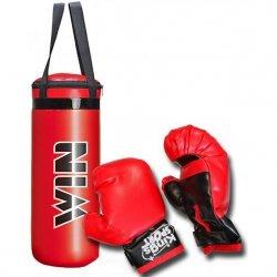 Zestaw bokserski junior Enero worek 22,5x15x38,5cm + rękawice