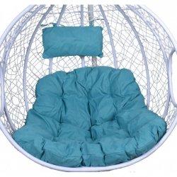 Kokon poduszka do fotela wiszącego Xl turkusowa