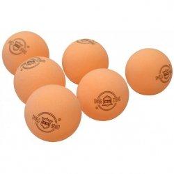 Piłeczka Tenis Stołowy Shield 6 Szt Pomarańczowa