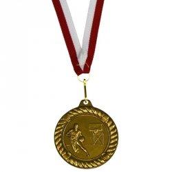 Medal Promo 50 Mm Koszykówka Alberti Złoty