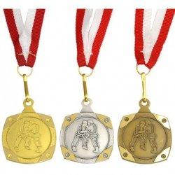 Medal Promo Judo/Karate Brązowy Kwadrat 268735