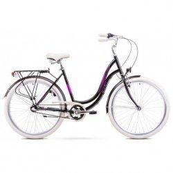 Rower Romet Angel 28 3 Czarno-Różowy 17 M 1928197