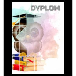 Dyplom papierowy - sowa (25 szt.)