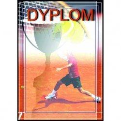 Dyplom Papierowy - Tenis Ziemny (25 Szt.)