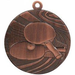 Medal 40mm brązowy tenis stołowy MMC1840/B