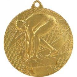 Medal Złoty- Pływanie - Medal Stalowy