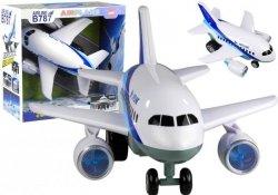 Duży Samolot Boeing Airplane Światło Dźwięk 33 cm
