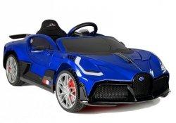 Auto na Akumulator Bugatti Divo Niebieski Lakier